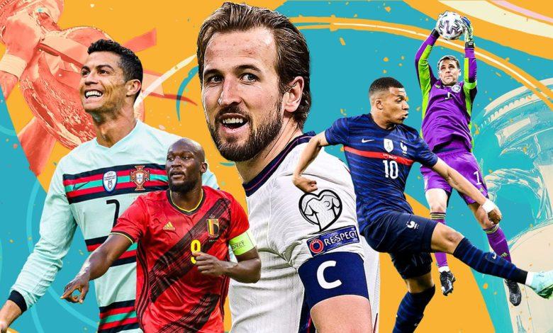 Euro 2020 biggest favourites
