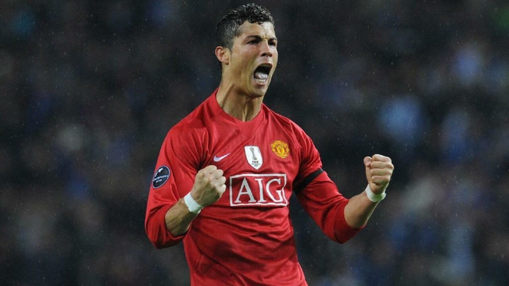 Ronaldo at Manchester United