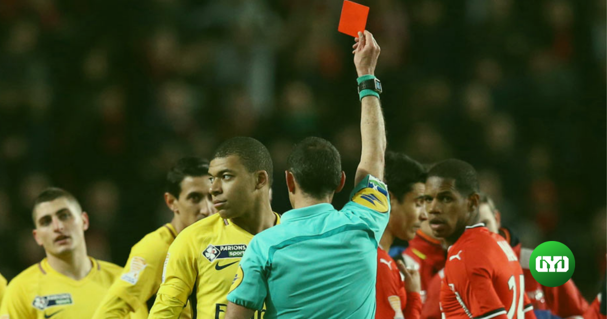 betting on red cards